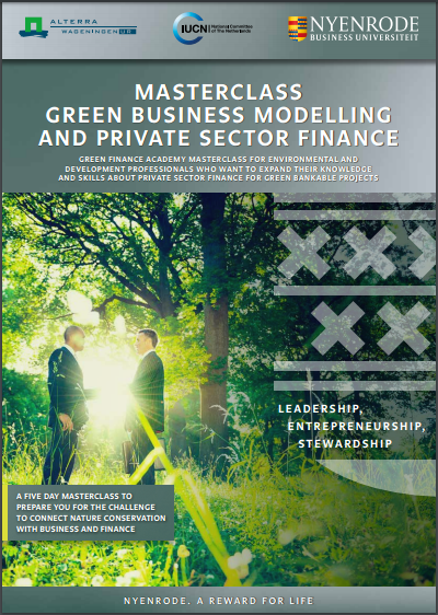 2nd Masterclass of the Green Finance Academy