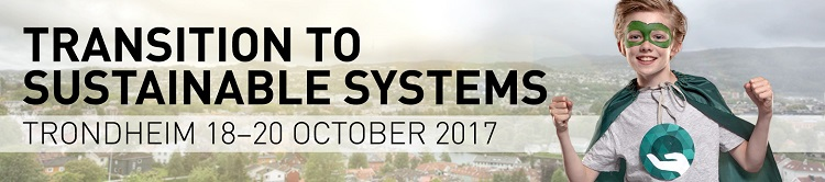 Call for abstracts: Transition to Sustainable Systems