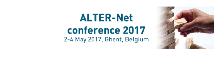 ALTER-Net Conference 2017: Register by 20 April