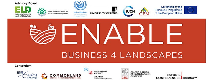 ENABLE offers MOOC on Landscape Restoration for Sustainable Development:  A business approach