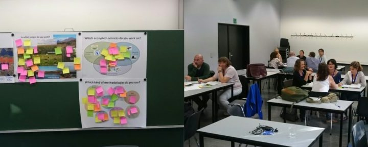 BWG 5 members joined the European Ecosystem Services 2016 conference