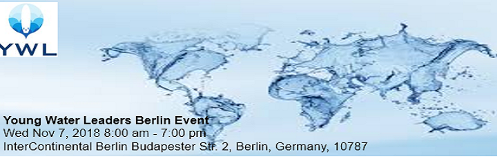 Young Water Leaders Berlin: Nov 7, 2018
