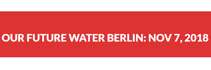Young Water Leaders Berlin, 7 Nov