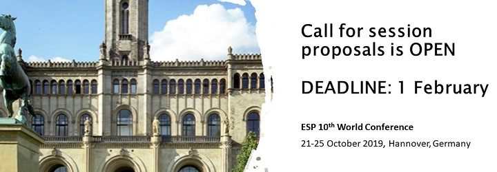 ESP 10: Submit a session proposal before 1 February