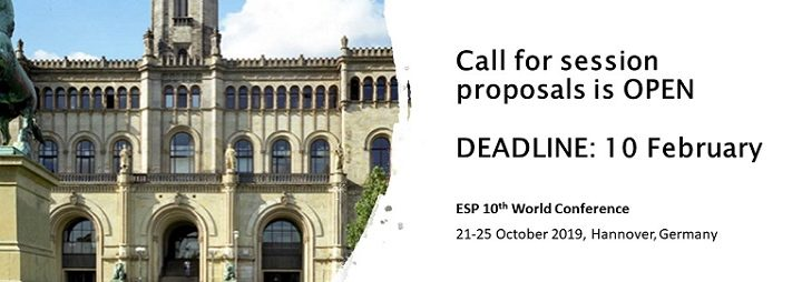ESP 10: Submit a session proposal before 10 February