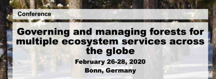 Conference: Governing and managing forests for multiple ecosystem services across the globe