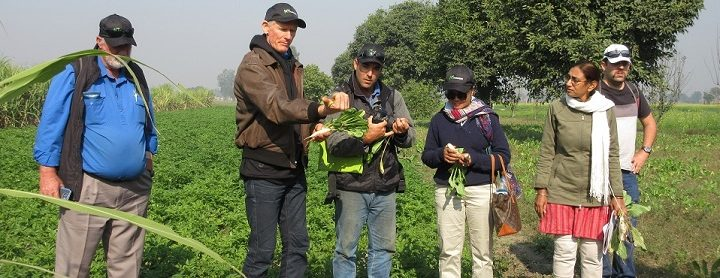 Sustainable Farming study tour and ideas exchange between Australia and India