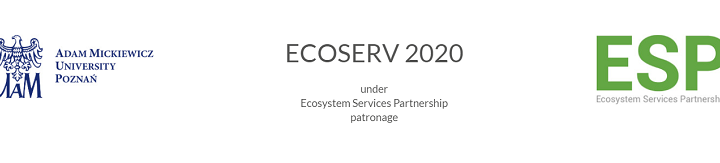 First sessions announced for ECOSERV 2020