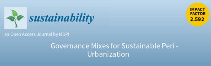 Call for contributions: Governance Mixes for Sustainable Peri-Urbanization