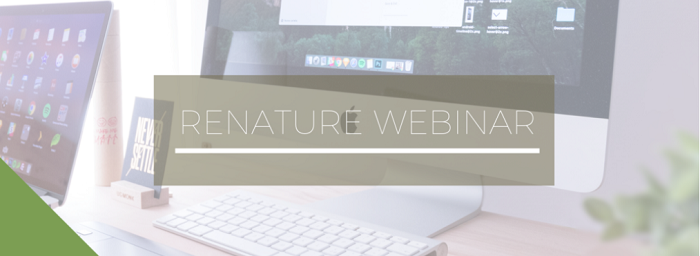 ReNature Nature-Based Solutions Webinar