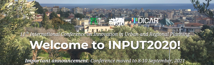 Input 2020 – 11th International Conference on Innovation in Urban and Regional Planning